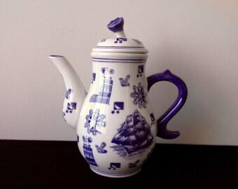 Seymore Mann China Mud Tea or Coffee Pot