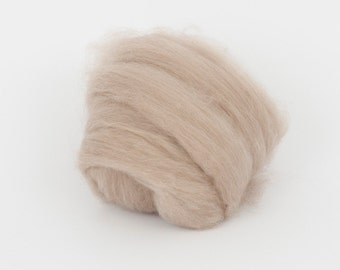 100% cashmere combed tops 1,78 oz (50 gr), cashmere for felting, wool for felting, cashmere fibers, wet felting