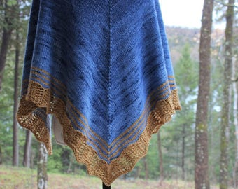 Shania Shawl Knitting Pattern