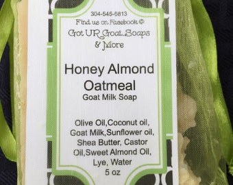 Goat Milk Honey Almond Oatmeal 4.5 oz
