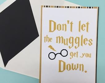 Harry Potter Card Set--Muggles Card Set--Harry Potter Cards