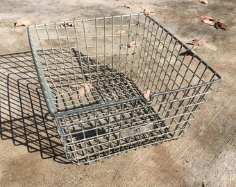 Vintage Metal Wire Baskets