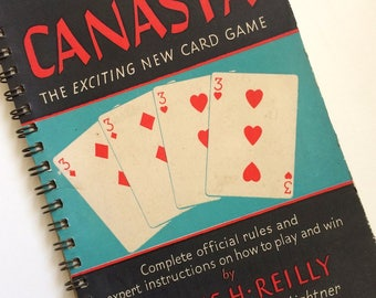 1949 Canasta Instructions & Rule Book by Ottilie H.Reilly