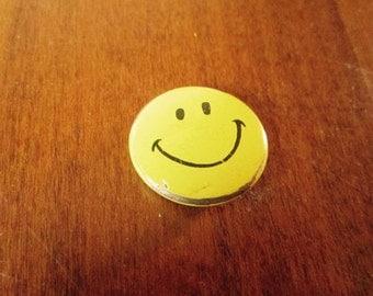 Vintage Smiley Face Pin Original Creative House 1960s