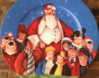 Saks 5th Avenue Christmas Platter - Limited Edition