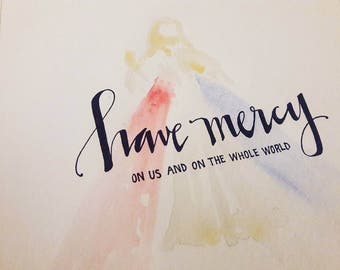 Have Mercy Watercolor