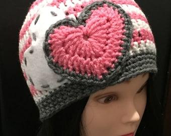 Valentine's Day beanie