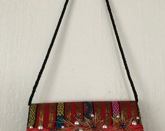 Handmade Cross Body Bag, Chin Handmade Bag, Handmade Tribal Bag, Handmade Cross Body Bag,Boho Cross Body Bag, Handwoven Cross Body Bag