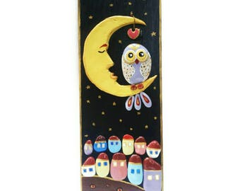 Pebble Art Owl, hand painted pebbles, Pebble Art, Stone Art, Rocks Art, Owls painting, Painted stones, house pebble art, Owls rock art