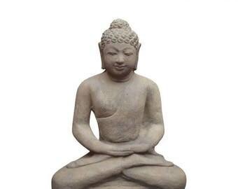 20% off this item Cast Buddha Statue