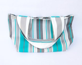 Medium Market Bags - Stripes