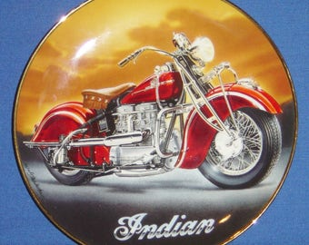 The 1942 Indian 442 Royal Doulton® Collector's Plate (JVM)