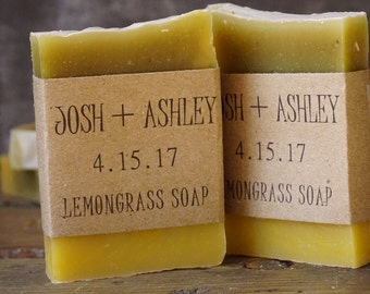 Mini Soap Favors | Mini Soaps, Shower Soaps, Rustic Wedding Favor, Rustic Wedding Favors, Unique Wedding Favors, Custom Mini Soaps