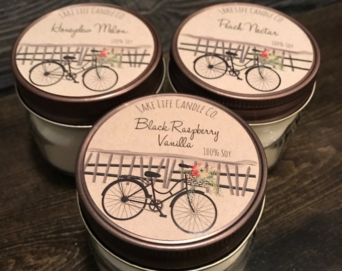 Market Sampler: Handmade Soy Candles by Lake Life Candle Co, Made in WI