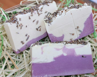 Organic Lavender Bar Soap Natural lavender soap Soap lavender Cold processed soap Bar soap lavender Vegan bar soap Lavender bar soap