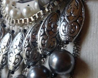 Necklace boho, gypsy, Bohemian, Asian influense