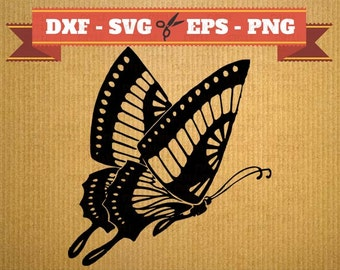 Butterfly SVG files, vector files for cricut, Butterfly cutting files, clipart butterfly, butterfly dxf, silhouette butterfly, svg animal