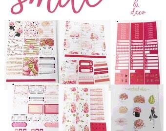 FOILED Smile//6 Sheet Weekly Kit//Erin Condren//Happy Planner