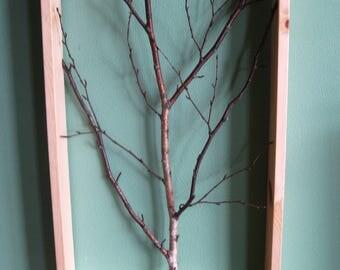Unique 3-D Birch branch art