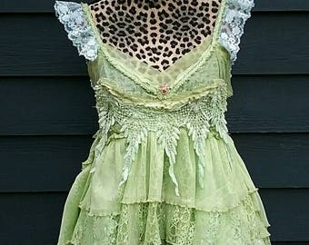 Minty Mildred - Founcy Bohemian summer dress