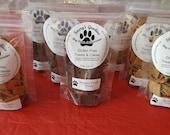 Hand crafted wheat free, healthy Dog Treats (6oz Bag)
