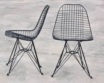 Pair of FIrst Genration Eames DRK 's by Herman Miller