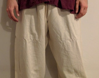 Linen Peasant Pants