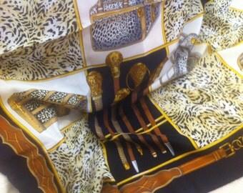 Design-scarf, silk, leo-print, bags-print