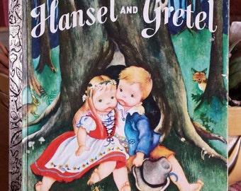 1978 Hansel and Gretel, Little Golden book.