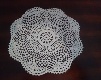 Hand Crocheted Vintage Doilie~Perfect Condition