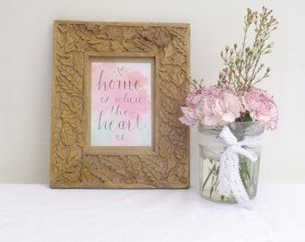 Home is Where the Heart is - Postcard Print