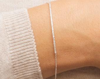 Personalised Skinny Crystal Bar Bracelet