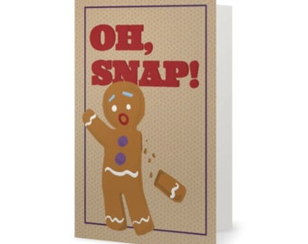 OH SNAP  |  Holiday Card  |  Funny Christmas Card