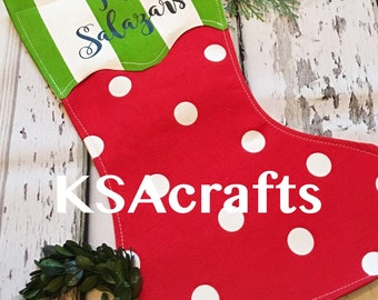 Christmas Garden Flag, Stocking Flag, Garden Flag