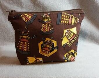 Doctor Who Dalek Zipper Pouch