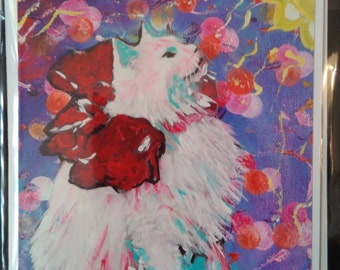 Art Print card