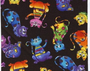 Crazy by Timeless Treasures  Fabric by the Yard  c1572-bright