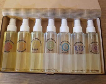 Box of Auric mists of the seven Chakras
