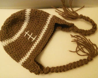 Baby Football Earflap Hat