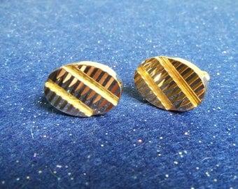 Cuff Links - Gold Cuff Links
