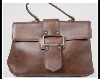 Dark Brown Case Bag