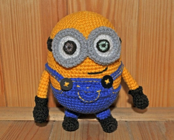 Amigurumi Minion Bob : crochet Minion Bob / Minion / Minion amigurumi