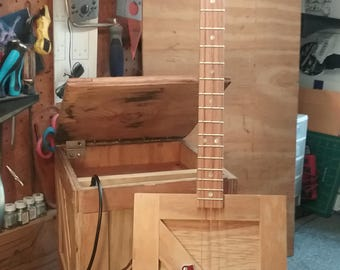Plywood Crate 3 String Guitar