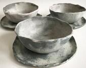 Soup bowl / plate set