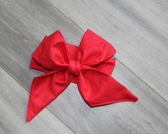 Crimson Headwrap