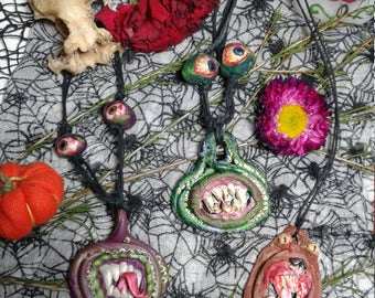 Monster pendants