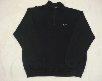 Vintage NIKE Embroidered Logo Casual Sweatshirts Pullover