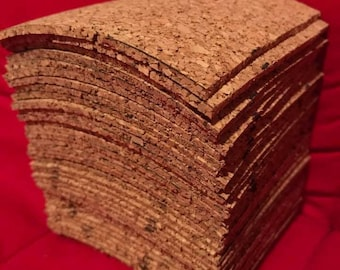 Natural Cork Squares, Cork Sheets, Cork squares for Scrapbooking and Crafts