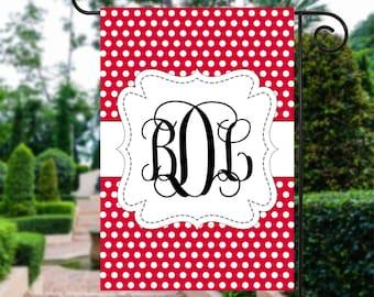 Valentines Day Garden Flag | Monogram Garden Flags |  Valentines Day | Garden Flag | Valentines Day Gift | Garden Decor | Valentine Flag