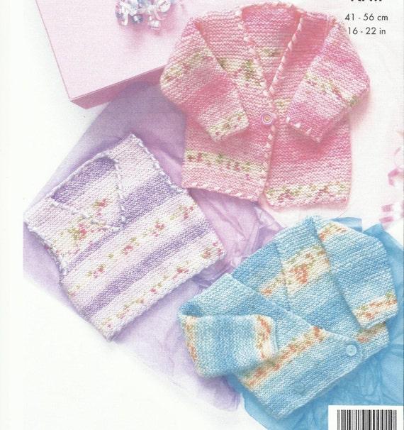 Beautiful Babies Jacket and Tank Top Knitting Pattern 3 18